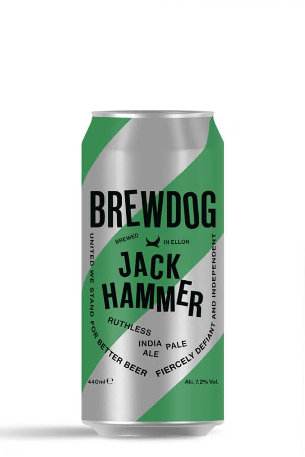 BrewDog Jack Hammer IPA 440ml Can