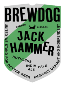 Jack Hammer Beer Mat