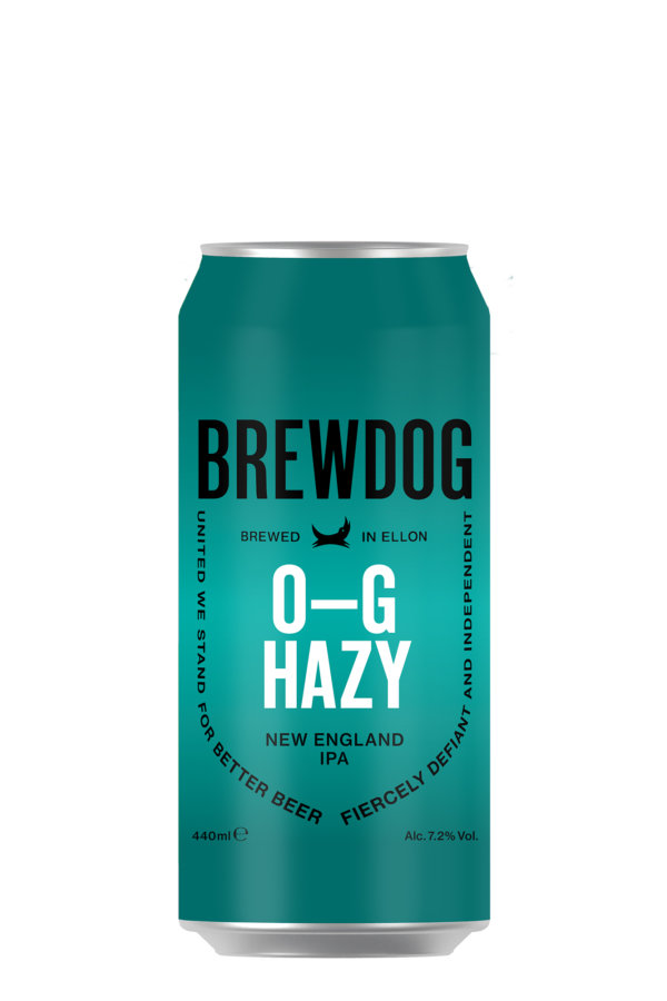 BrewDog O-G-Hazy 440ml Can