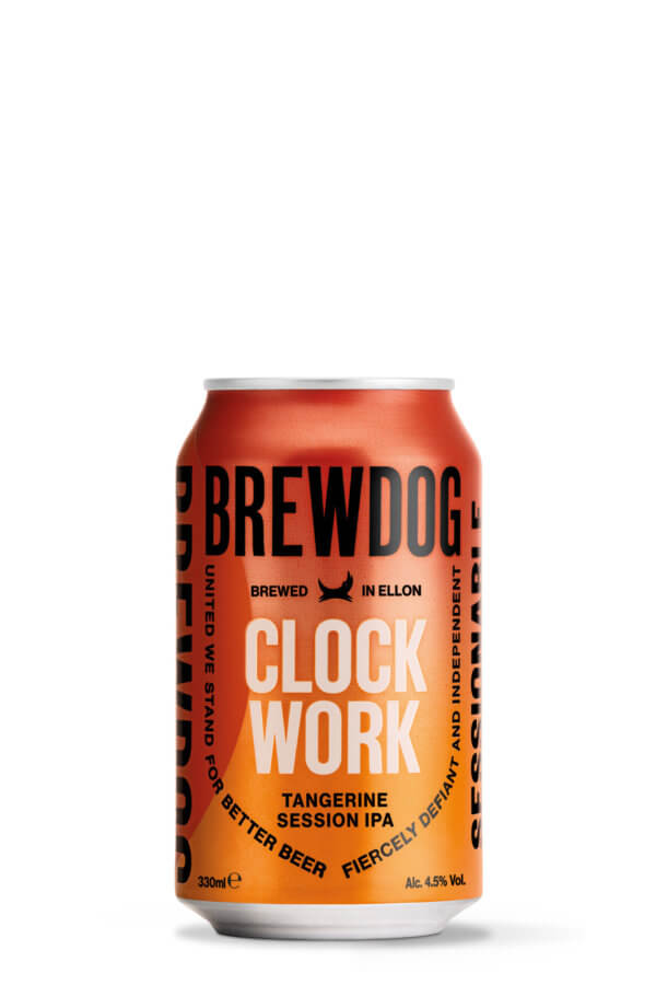 Clockwork Tangerine Can 330ml